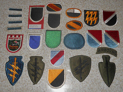 US Military Special Forces Flashes Ovals Military Patches
