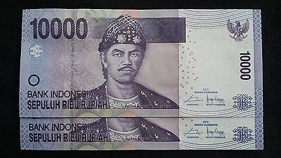 INDONESIA 10000 Rupiah 2015 x 2 P150g? - run of 2 UNC Banknotes