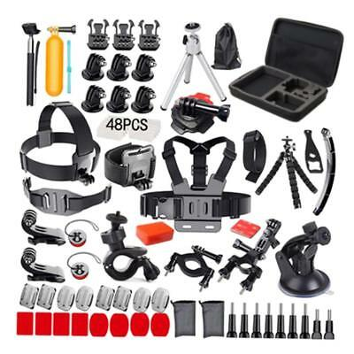 120Pcs Accessories Set Kit For GoPro Hero 2 3 3+ 4 5 6 Head Chest Strap Pole
