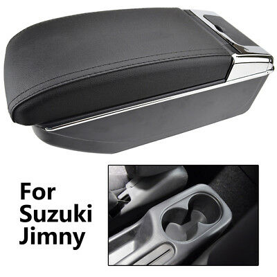 Centre Storage Box For Suzuki Jimny 2000-2017 Arm Rest Dual Armrest Cup Holder