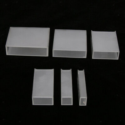 721 5mm - 50mm Cuvettes Glass Cuvette Cell for Spectrophotometers