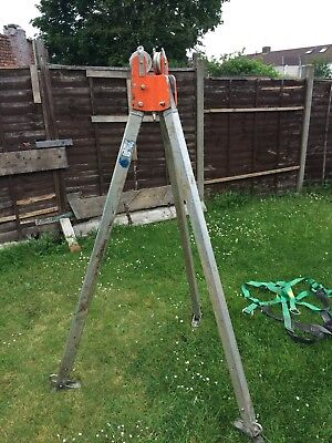 Tractel Tracpode Tripod For Hoist Manriding Manhole Escape Rescue