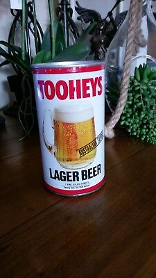 Collectible TOOHEYS DRAUGHT TIN CAN STUBBY MONEY BOX