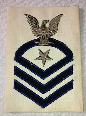 Wwii Usn Ships Master-At-Arms Rank Patch