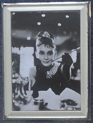 Audrey Hepburn Large Classic Hollywood Actress Metal Sign Wall Plaque 30 x 40 cm