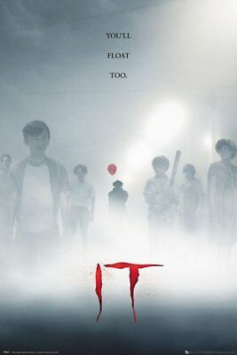 It Pennywise The Clown Characters Stephen King 91.5X61Cm  Poster New Official