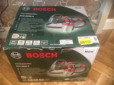 Bosch PFS 3000-2 All Paint Spray System - Used Once