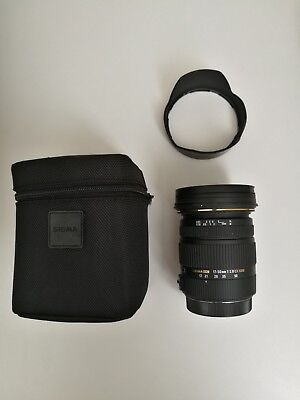 Sigma EX 17-50mm f/2.8 HSM DC OS Lens for Canon (w/ soft case & 77mm UV filter)