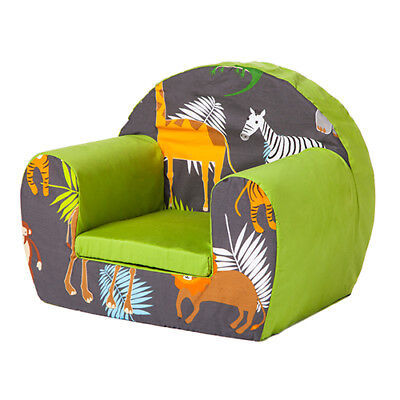 Africa Children Foam Armchair Soft Seating Chair Seat Toddlers Baby Sofa Nursery