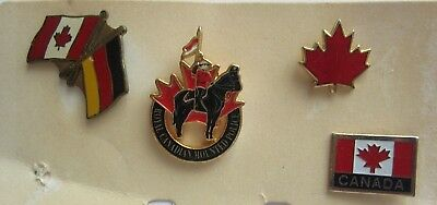 RCMP - Royal Canadian Mounted Police - 4 Metallsticker