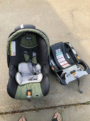 Chicco Keyfit 30 Infant Car Seat with 2 Bases EXP Jan 2021 NO Accident