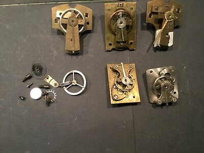 Job lot of   Platform clock  parts