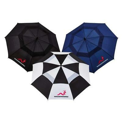 Large Golf Umbrella Double Canopy 60 Inch Windproof Waterproof Vented