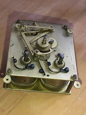 """Vintage Of 1950/60's """"EMPIRE"""" 8 Day Mech Move Striking Clock's Movement, Working"""