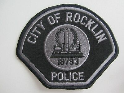 NEU - Polizei Abzeichen / Police Patch - USA - Kalifornien - City of Rocklin