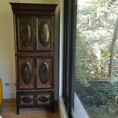 3 Piece Antique Chinese Cabinet Fujian Province