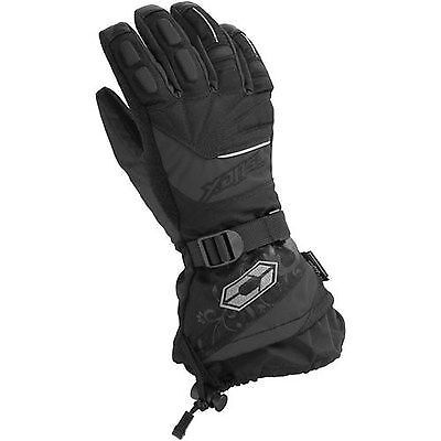 Castle X Womens Ladies Rizer G7 Black Cold Weather Gloves -   Xl - New