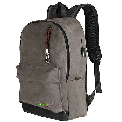 Anti Theft Backpack Business Laptop Backpack Travel Water Resistant USB Port
