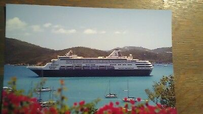 Giant Photo Post Card In Rich Color Holland America Line