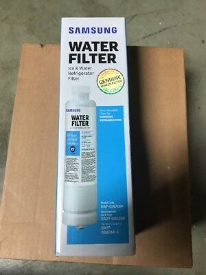 New Genuine Samsung OEM Ice & Water Refrigerator Filter DA29-00020B, HAF-CIN/EXP