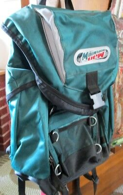 Very RARE 1990s MOUNTAIN DEW BACKPACK (Pepsi Points Program)...NICE ONE!