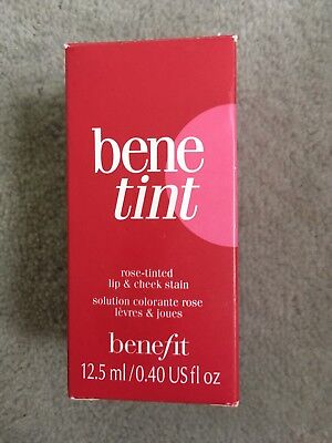 Benefit Benetint 12.5ml New In Box Lip And Cheek Stain