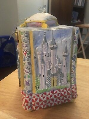 Jim Shore Disney Traditions Treasure Fit For A Princess Jewelry Box w/Tags