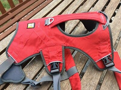 Ruffwear Web Master Harness, Large/X-Large, Red Currant