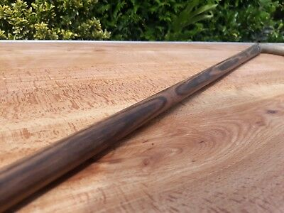 Rare antique late 19th century Scottish rosewood walking cane with horn handle
