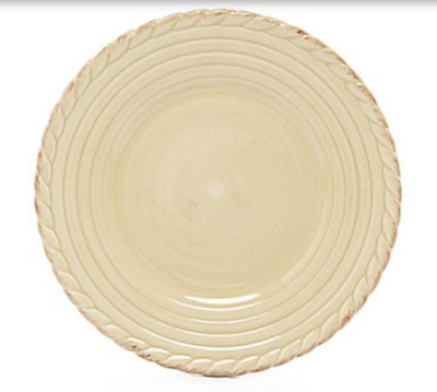 ARTIMINO TUSCAN COUNTRY Dinner Plate Earthenware Cream Microwave Dishwasher NEW