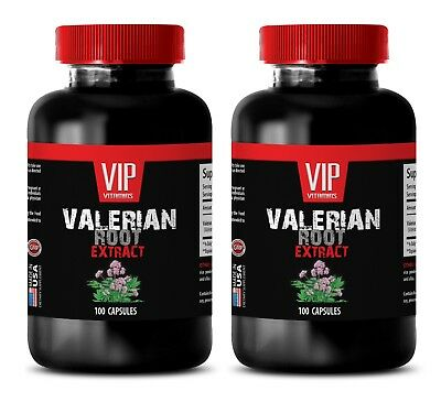 Sleep Aid - VALERIAN ROOT EXTRACT - to suppress psychological stress-2B