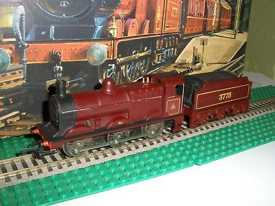 TRIANG RS8 MIDLAND RAILWAY DEELEY 3F 060 TENDER LOCO No. 3775 BOXED RARE VGC