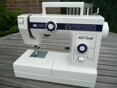 Janome / New Home Model 110 Sewing Machine - Mint Condition - Hardly Used