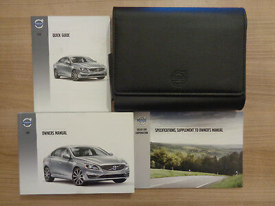 Volvo S60 Owners Handbook/Manual and Wallet 14-17