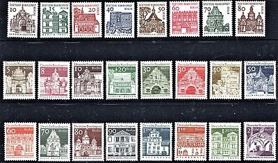 BERLIN German Architecture  FULL 2 SETS [24 issues] - MINT NEVER HINGED -