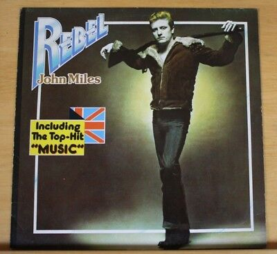 "John Miles - Rebel - 12"" Vinyl LP Germany 1976"