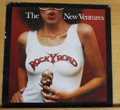 "The New Ventures - Rocky Road - 12"" Vinyl LP Germany 1976"