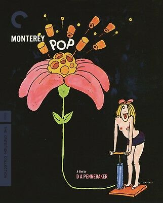 Monterey Pop (The Criterion Collection) [Blu-Ray] 2018