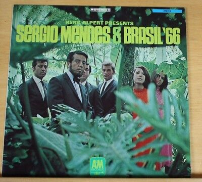 "Herb Alpert Presents Sergio Mendes & Brasil '66 - 12"" Vinyl LP Germany 1967"