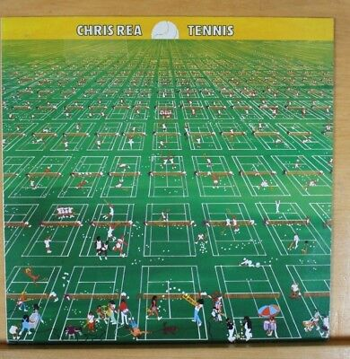 "CHRIS REA - Tennis - 12"" Vinyl LP Germany 1980"