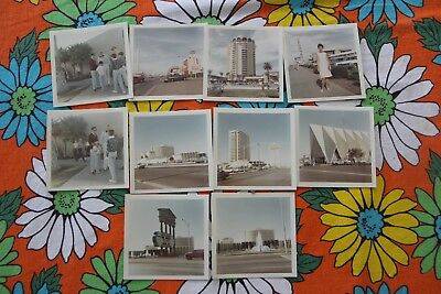 """10 - Color Photos Las Vegas, Nevada - 1966  """"The Strip/Marquees/Jerry Lewis"""""""