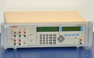 Martel 3001 Multifunction Precision Bench Process Calibrator NIST Calibrated