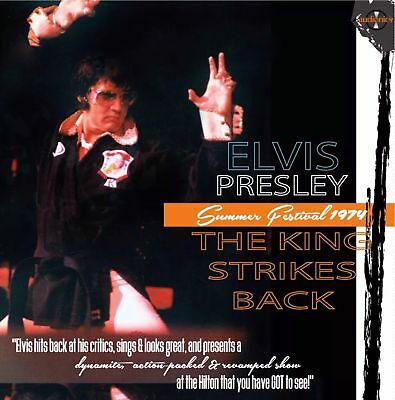 Elvis Presley The King Strikes Back 10 Cd Box