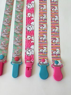 Handmade Pacifier Holder - Disney Lady and the Tramp, 101 Dalmatians, Aristocats