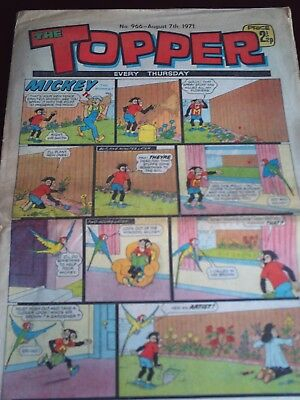 THE TOPPER. #966.AUG 7th.1971.