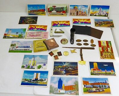 Collection Of 1933-1934 Chicago World's Fair-A Century Of Progress Memorabilia
