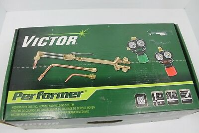 Victor 0384-2045 Performer 540/510 Edge Acetylene Cutting Torch Outfit L377391C-