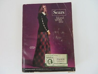 Sears Roebuck Catalog 1972 Fall & Winter #8412