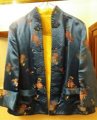 Vintage 50s reversible chinese jacket. Gorgeous.