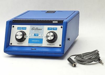 Beltone Audio Scout Portable Audiometer Audio Meter Hearing Aid Test Tester